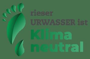 Rieser Urwasser Klimaneutralität