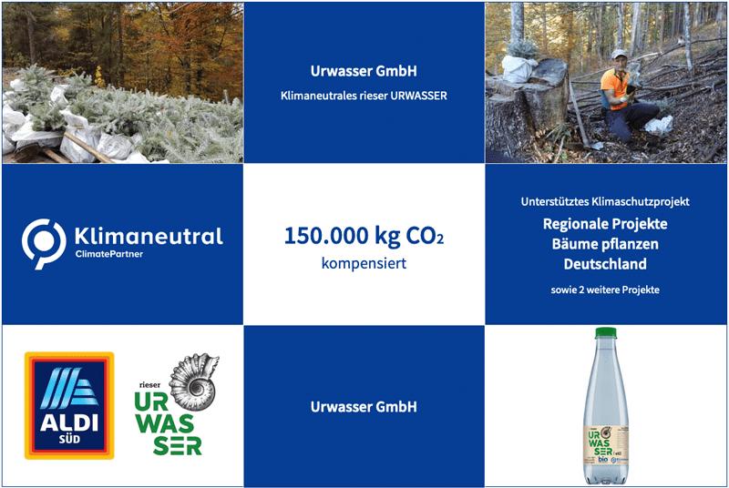 rieser Urwasser Climate Partner uebersicht